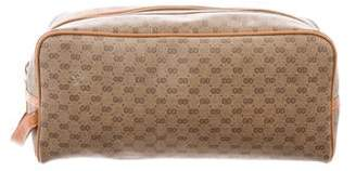Gucci Vintage Micro GG Plus Toiletry Bag