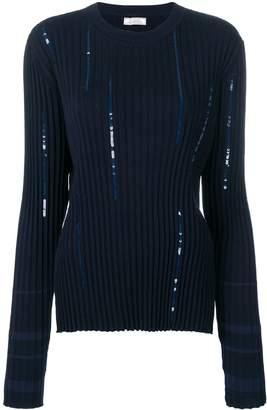 Nina Ricci sequinned jumper