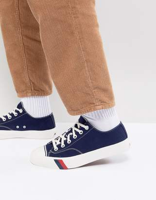 Pro-Keds Pro Keds Royal Lo Canvas Sneakers In Navy
