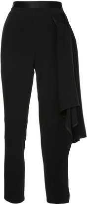 Valery Kovalska cropped asymmetric trousers