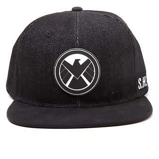 Difuzed Marvel The Avengers Shield Logo Snapback Cap