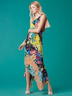 One-Shoulder Asymmetric Hem Dress $398 thestylecure.com