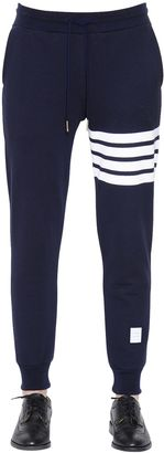 Intarsia Cotton Jersey Jogging Pants $570 thestylecure.com