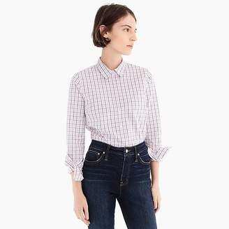 J.Crew Tall slim stretch perfect shirt in meyer tattersall