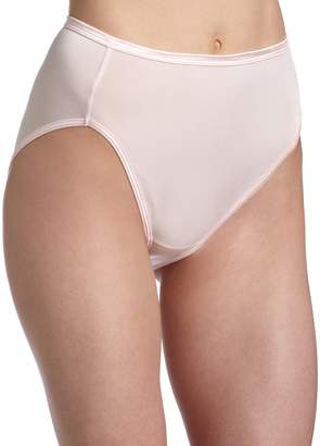 Vanity Fair Women's Body Shine Illumination Hi-Cut Brief Panty 13108