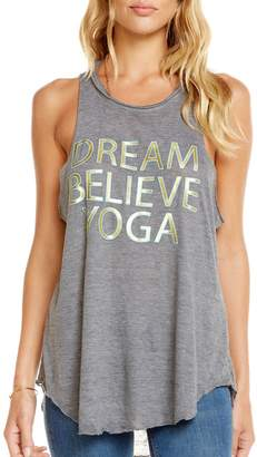 Chaser Dream Believe Yoga Tank