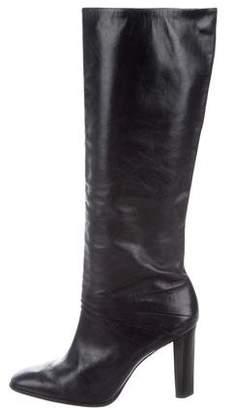 Diane von Furstenberg Round-Toe Knee-High Boots
