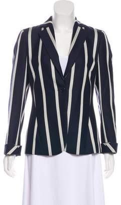 Akris Punto Striped Structured Blazer