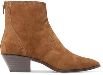 Loeffler Randall Joni Suede Ankle Boots - Brown
