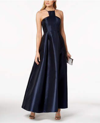 Adrianna Papell Mikado Satin Modern Gown