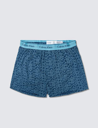 Calvin Klein Underwear Regular Fit Woven Boxer