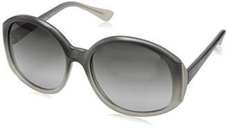 Vince Camuto Women's VC690 GRY Oval Sunglasses