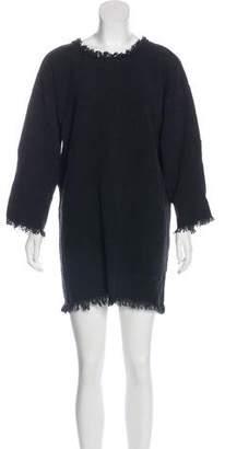 Isabel Marant Fringe-Trimmed Mini Dress