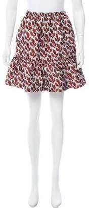 Philosophy di Lorenzo Serafini Patterned Mini Skirt