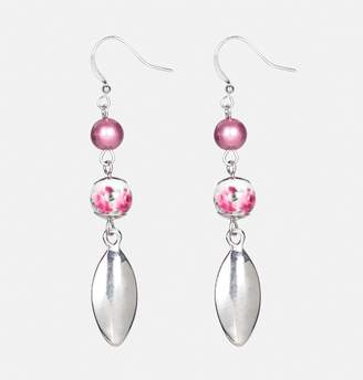 Avenue Rose Drop Earrings
