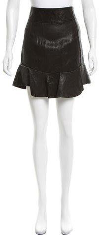 Isabel MarantIsabel Marant Leather Mini Skirt w/ Tags