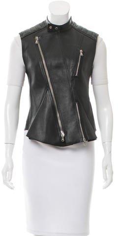 3.1 Phillip Lim3.1 Phillip Lim Leather Moto Vest