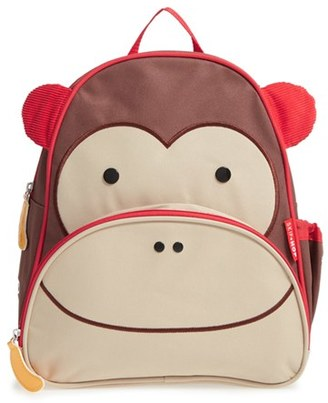 Toddler Skip Hop Zoo Pack Backpack - Brown $20 thestylecure.com