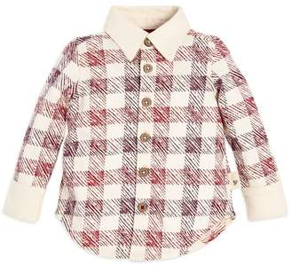 Burt's Bees Boys Button Down Organic Baby Shirt