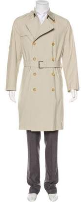 Burberry Nova Check-Lined Vintage Trench Coat