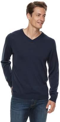 Apt. 9 Men Wool-Blend Merino V-Neck Sweater