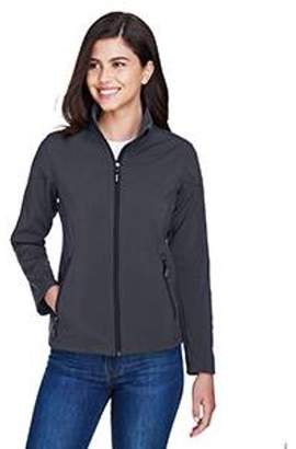 Ash City - Core 365 Ladies' Cruise Two-Layer Fleece Bonded Soft Shell Jacket - CARBON 456 - 2XL 78184