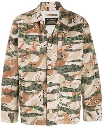 MHI printed Mil Chore shirt jacket