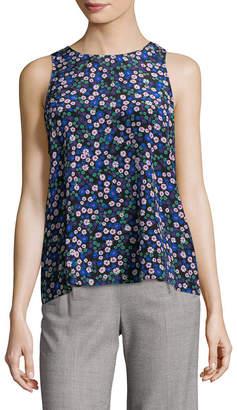 Rebecca Taylor Juliet Floral Silk Tank