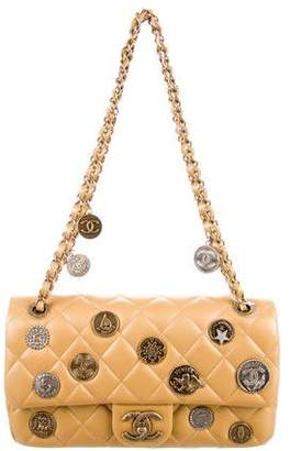 Chanel Cruise 2015 Paris-Dubai Medallion Flap Bag w/ Tags