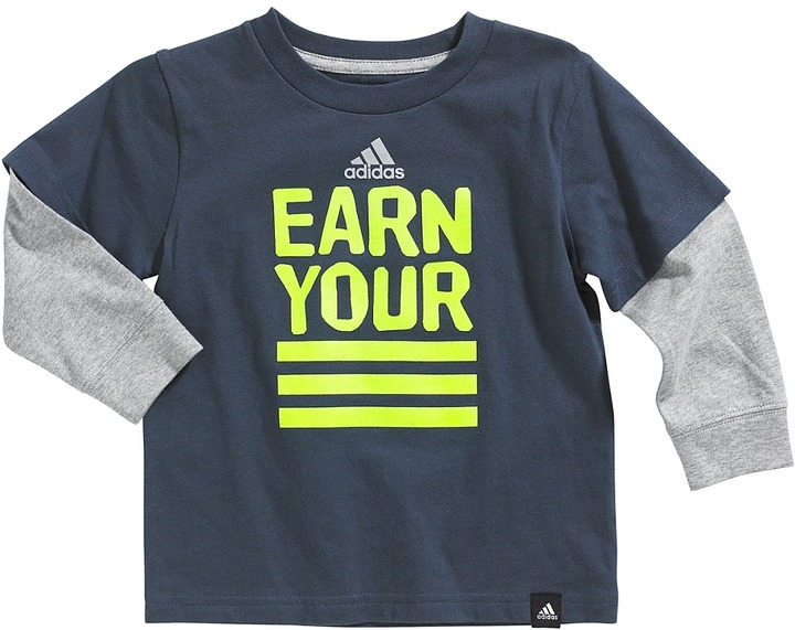 adidas Big Ball Wrap Tee