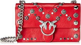 Pinko Love Maxi Studs, Women's Shoulder Bag,8x15x27 cm (W x H L)