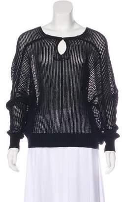 AllSaints Open Knit Sweater