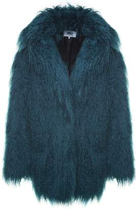 MM6 MAISON MARGIELA Faux Mongolian-fur Coat