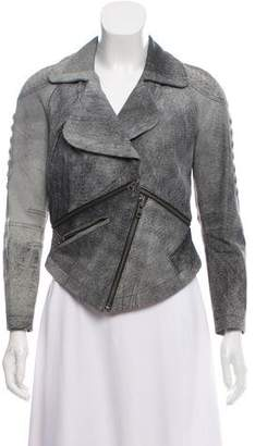 Yigal Azrouel Leather Moto Jacket