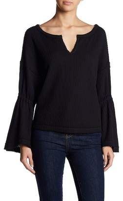Free People Dahlia Thermal Knit Sweater