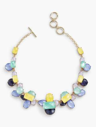 Talbots Colorful Faceted Necklace