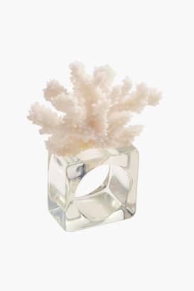 Kim Seybert Reef Napkin Rings Set of 4