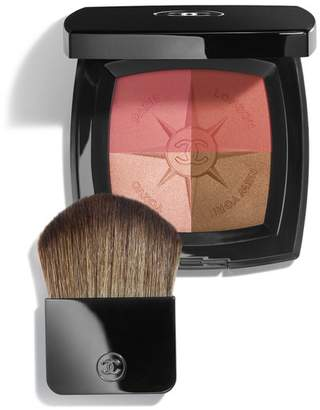 55bea1e1a399 Chanel Beauty VOYAGE DE Travel Face Palette Blush and Illuminating Powders