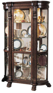 Co Darby Home Murillo Lighted Curio Cabinet