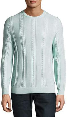 Tommy Bahama Men's Marled Sands Cable-Knit Sweater