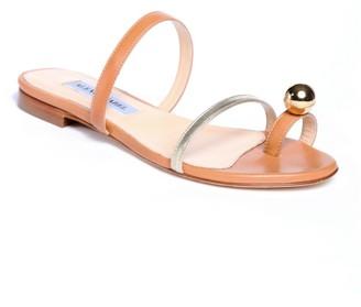 Alexis Isabel Felixa Caramel & Gold Leather Sandals