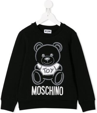 Moschino Kids Teddy Bear print sweatshirt