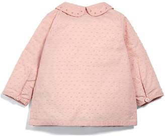 Mamas and Papas Baby Girls Lace Trim Blouse