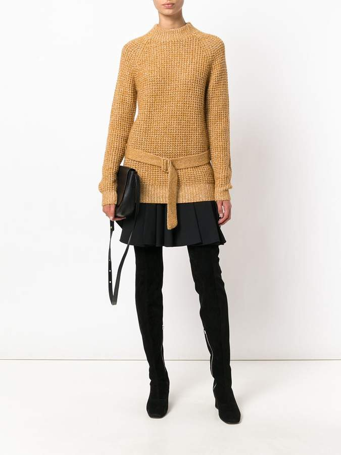See by Chloe belted sweater