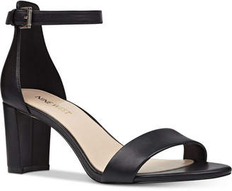 65386ee91f1 Nine West Black Heeled Women's Sandals - ShopStyle