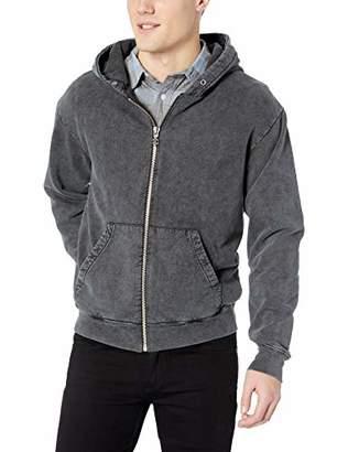 The Kooples Men's Men's Washed Out Hooded Fleece Sweatshirt