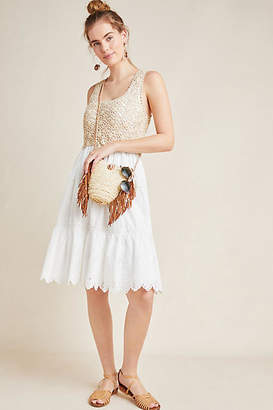 Anthropologie Beckett Crochet Eyelet Dress