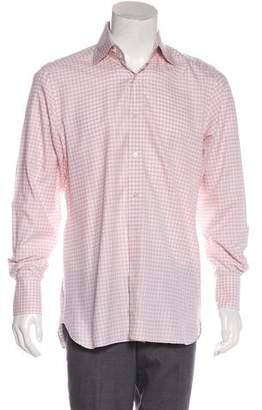 Tom Ford Gingham Dress Shirt
