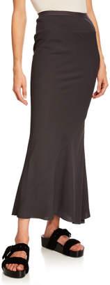 Rick Owens Coda Calf-Length Cady Skirt