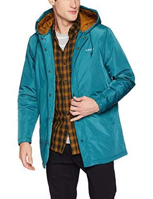 Obey Men's Singford Durable Insulated Parka Jacket